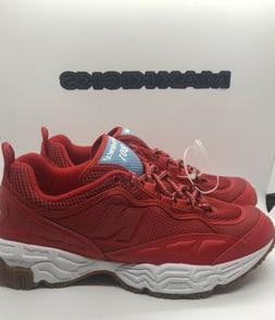 801 red mens size 9 5 new