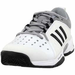 adidas Barricade Classic Wide  Casual Tennis  Shoes - White