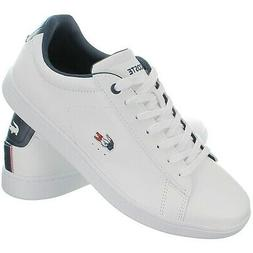 Lacoste Carnaby Evo 119 white blue red Men's Fashion Sneaker