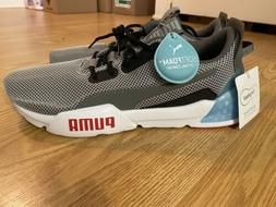 Puma Cell Phase 192638-01 Gray/Blue Running Shoes, Men's Siz