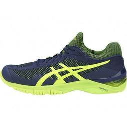 Asics Court FF  Tennis Shoes - Blue/Yellow - Size 11 - Brand