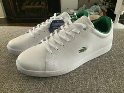 Lacoste Hydez 119 White Green Leather Tennis Shoes Men's S