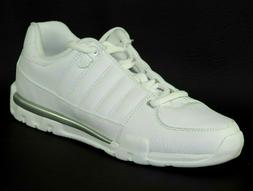 K-Swiss KAYESTEE Mens Shoes 02153147 White Leather Tennis Ru