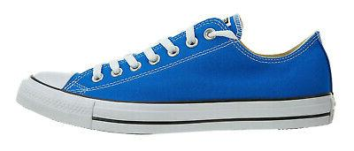 Converse Chuck Taylor Low Tops Blue Mens 155572F