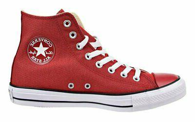 Converse Hi Tops Gym Red, Black, White Mens Sneakers Tennis