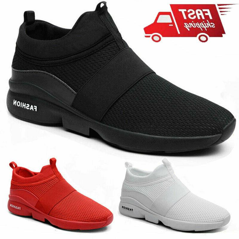 men s running sneakers lightweight casual breathable