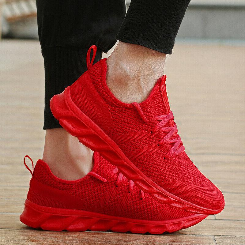 Men's Casual Fashion Running Sneakers Breathable Gym