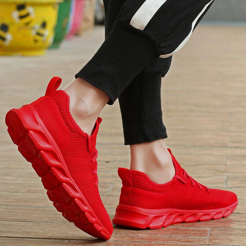 Men's Lightweight Tennis Shoes Casual Breathable US