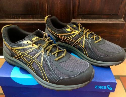 Mens 12 Extra Black Tennis Asics Frequent Trail Running Shoe