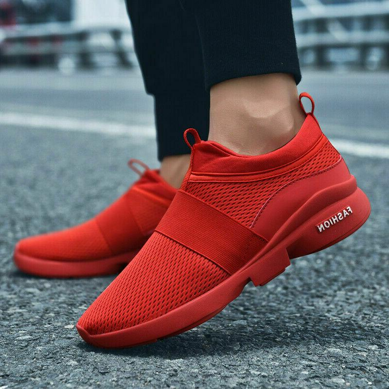 Men's Running Sneakers Casual Athletic Tennis Shoes US
