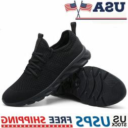 Men's Lightweight Tennis Shoes Casual Fashion Running Sneake