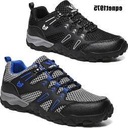 Men's Low Top Hiking Boots Backpacking Work Boots Shoes Ligh