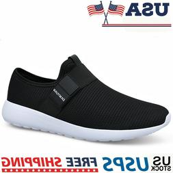 Men's Sneakers Breathable Fashion Athletic Running Walking S