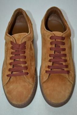 Paul Smith Mens Basso Camel Seude Trainers UK 8 US 9 New