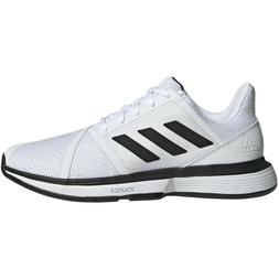 Mens Adidas CourtJam Bounce Wide White Tennis Athletic Court
