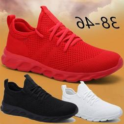 Mens Fashion Lightweight Tennis Shoes Casual Running Breatha