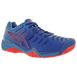 Asics Mens Gel-Resolution 7 Trainers Sport Gym Tennis Shoes