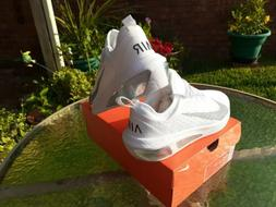 Mens NEW 10.5US NIKE AIR MAX FLY White Athletic Shoe-Sport S