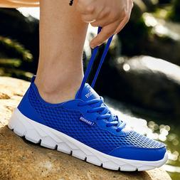 Men's Slip on Shoes Outdoor Breathable Running Casual Sport