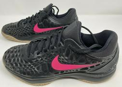 NEW Nike Air Zoom Cage 3 HC PRM Men's Tennis Shoes Black 923