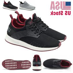 New Men's Outdoor Running Shoes Lightweight Breathable Non-s