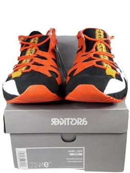 NEW Asics Tiger Gel-Mai Black/Orange/White Running Tennis Sh