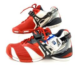 NWT Babolat Propulse 4 Men's Sz 7.5 Red White All Court Perf