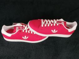 NWT Adidas Stan Smith Leather Pink Classic Original Shoes Me