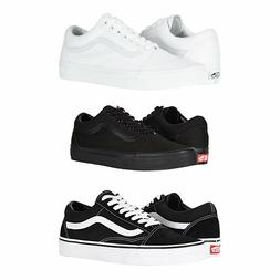 Vans Old Skool Skateboard Classic Black White Mens Womens Sn