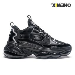 ONEMIX Sneakers Men Air Running Shoes Cushion Damping Traine