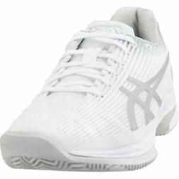 ASICS Solution Speed FF Clay  Casual Tennis  Shoes - White -