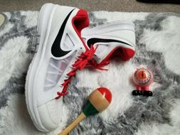 Tennis Shoes Nike Air Vapor Ace Size 15 Red and White 724868